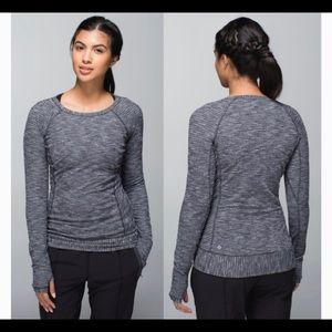 Lululemon | Race Your Pace Long Sleeve Coco Pique